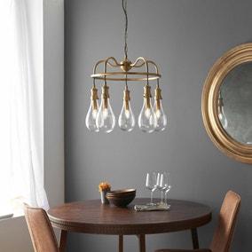 Vogue Garda 5 Light Ceiling Fitting