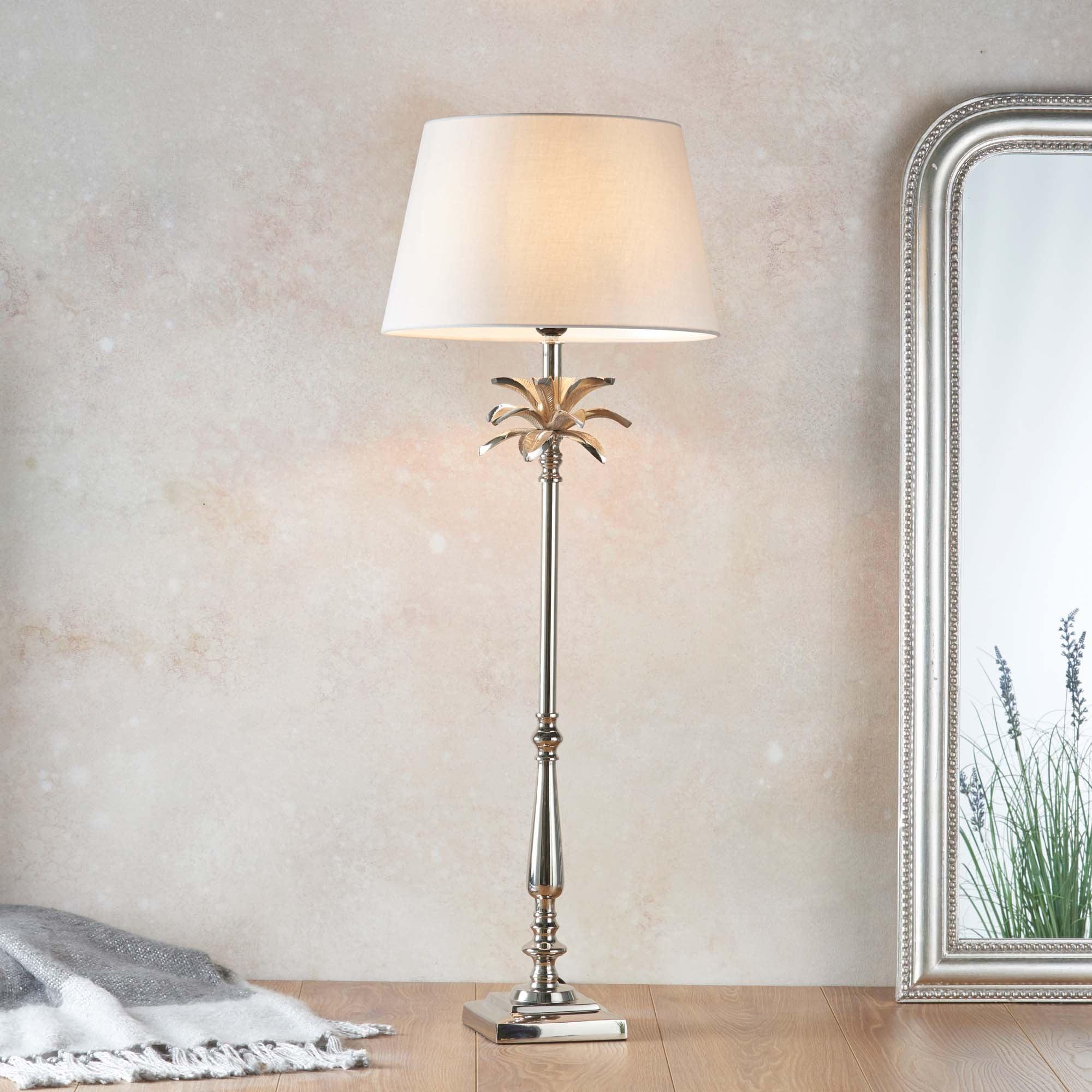 Vogue Laguna Large Table Lamp Base Nickel