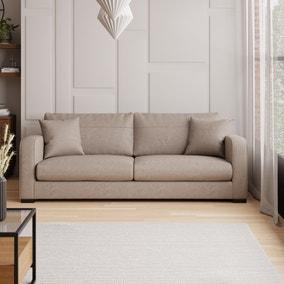 Carson Faux Leather 4 Seater Sofa