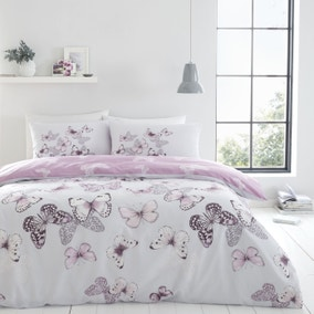 Catherine Lansfield Scatter Heather Duvet Cover and Pillowcase Set