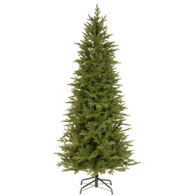 7.5ft Bedminster Spruce Slim Christmas Tree