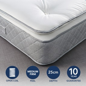 Fogarty Just Right Pillow Top Orthopaedic Open Coil Mattress
