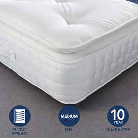 Fogarty Dreamy Comfort Pillow Top 1000 Pocket Sprung Mattress