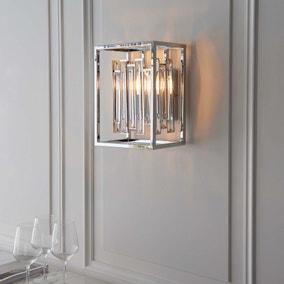 Vogue Crystal Juneau Wall Light