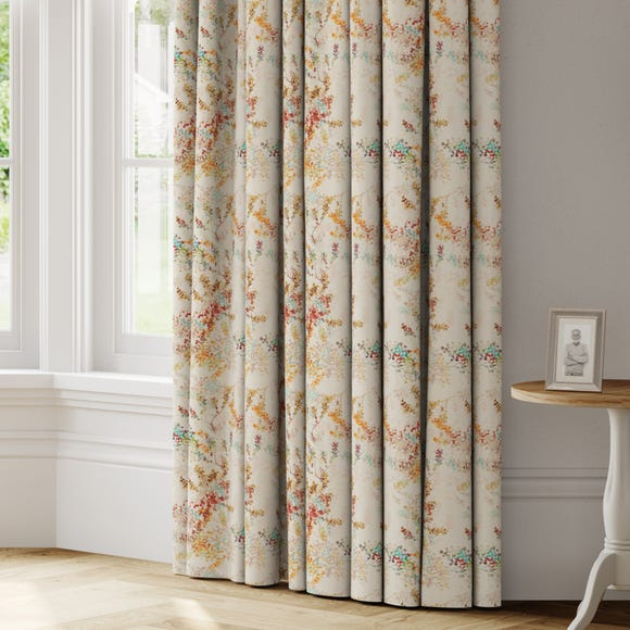 Camille Made to Measure Curtains Camille Orange