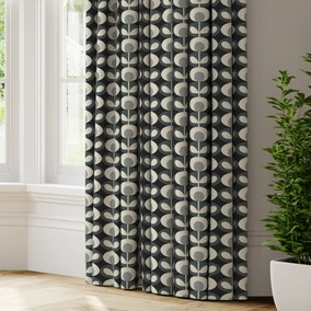 Orla Kiely Oval Flower Made to Measure Curtains