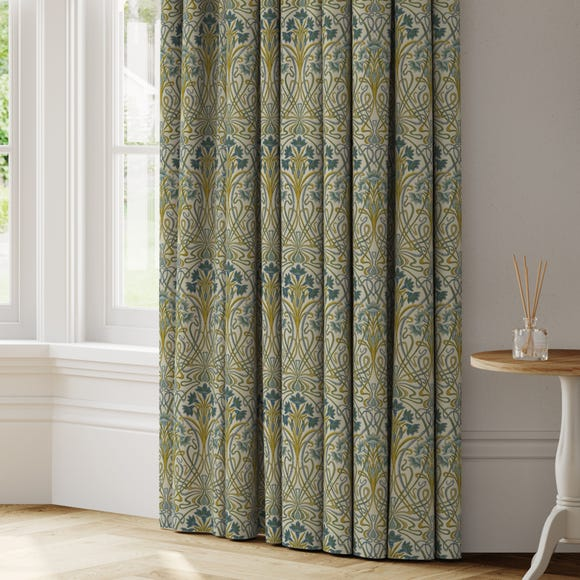 Lucetta Made to Measure Curtains Lucetta Indigo