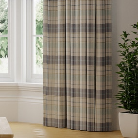 Nevis Check Made to Measure Curtains