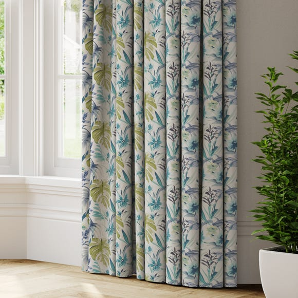 Funchal Made to Measure Curtains Funchal Green