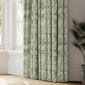 Palm Jacquard Made to Measure Curtains