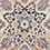 color Vintage Kashan 1 Red