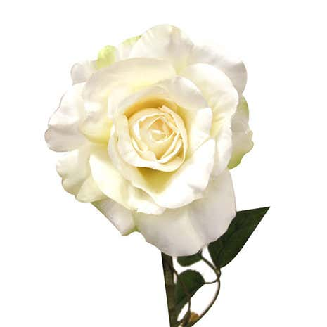 Artificial Single Rose Flower Stem