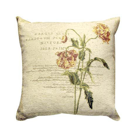 Wine Carnation Cushion