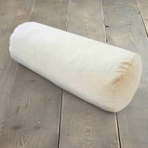 Ecru Bolster Duck Feather Cushion Pad