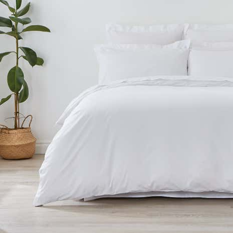 Non Iron Plain Dye Duvet Cover