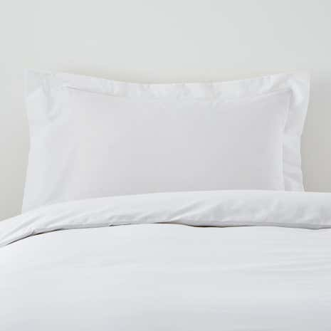 Non Iron Plain Dye Oxford Pillowcase