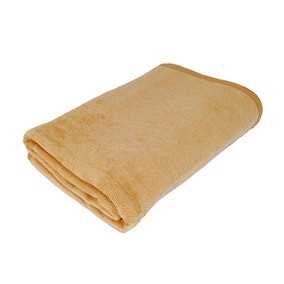 Thermosoft Camel Textured Blanket