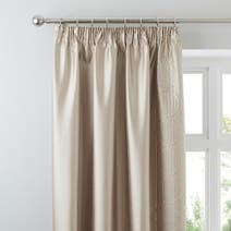 Latte Circles Curtains