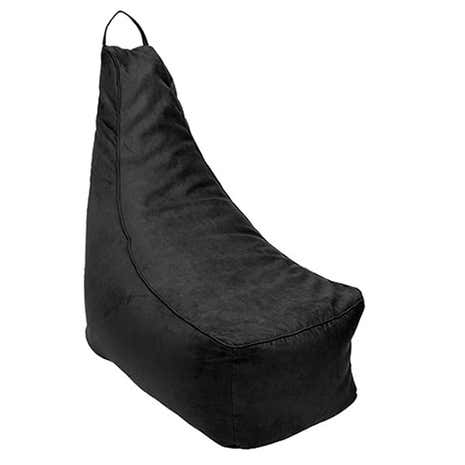 Black Suedette Bean Chair