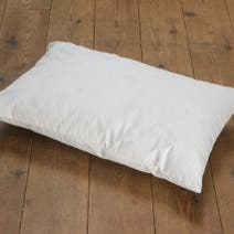 Ecru Pintuck Duck Feather Cushion Pad