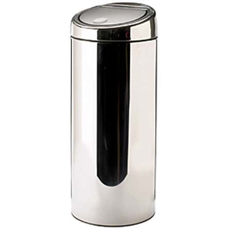 Brabantia 30 Litre Touch Bin Brilliant Steel