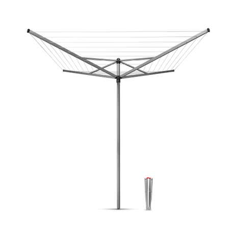 Brabantia 4 Arm 40m Topspinner Rotary Airer