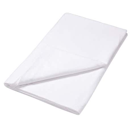 Luxury Brushed Cotton Flannelette Flat Sheet