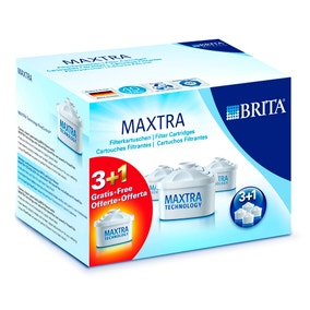 Brita Maxtra Pack of 4 Water Filter Cartridges
