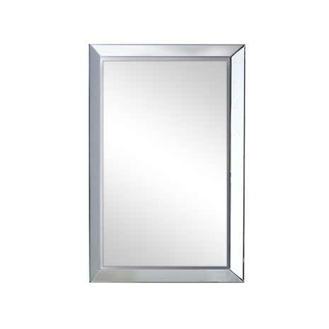 Mirror Bevelled with Deep Angled Frame