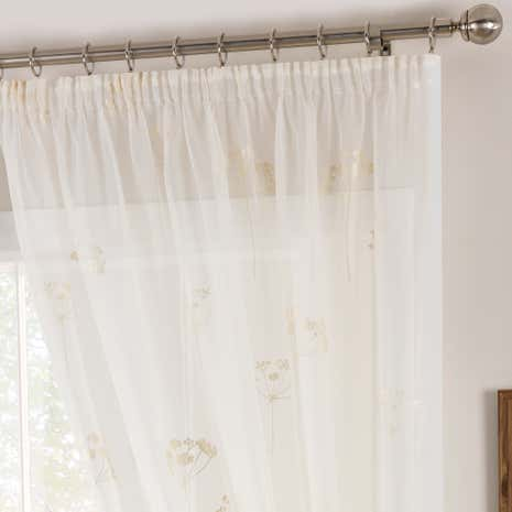 Cicero Cream Voile Panel