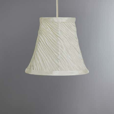 Swirl Pleat Candle Shade