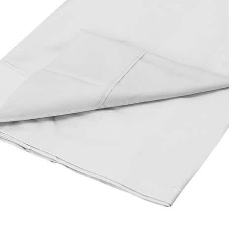 Dorma Plain Dye 350 Thread Count Flat Sheet