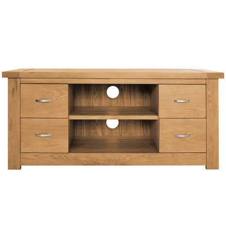 Richmond Oak Widescreen TV Unit
