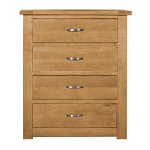 Richmond Oak 4 Drawer Chest