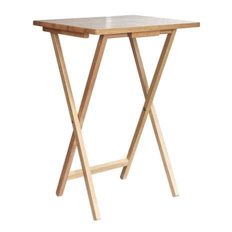 Rubberwood TV Table