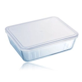 Pyrex Small Rectangular Dish with Lid