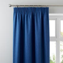 Blue Solar Blackout Curtains