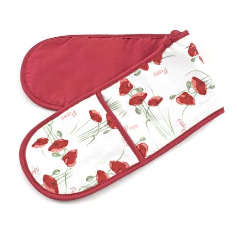 Poppy Double Oven Glove