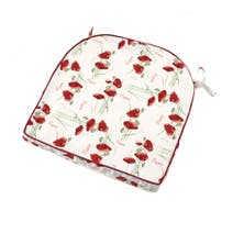 Red Poppy Seat Pad
