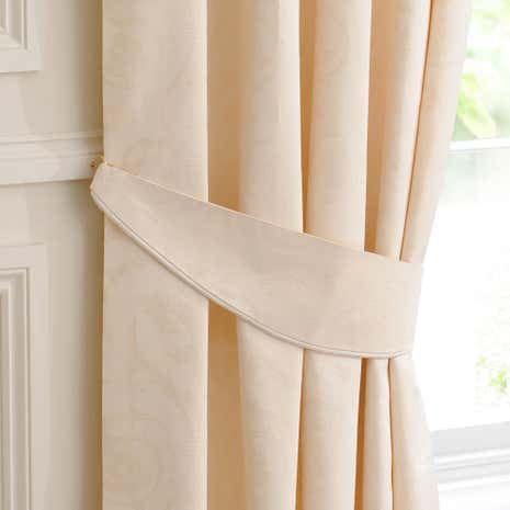 Natural Sandringham Curtain Tiebacks