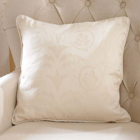 Natural Sandringham Cushion