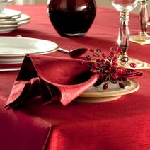 Faux Silk Pack of Four Napkins