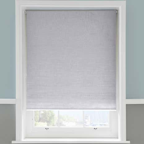Blackout Linen Roller Blind