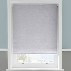 Linen Grey Roller Blackout Blind