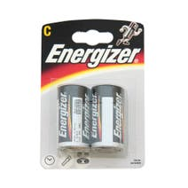 Energizer Alkaline Classic C Pack of 2 Batteries