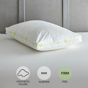 Comfort Zone Hollowfibre Firm-Support Walled Pillow