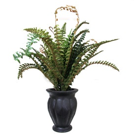 Artificial Boston Fern Plant