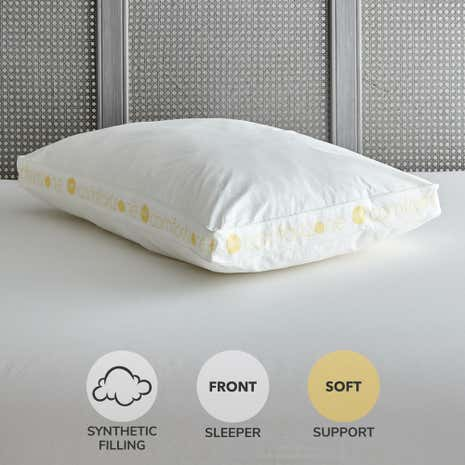 Comfort Zone Hollowfibre Soft-Support Walled Pillow