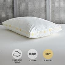 Comfort Zone Hollowfibre Soft Support Walled Pillow