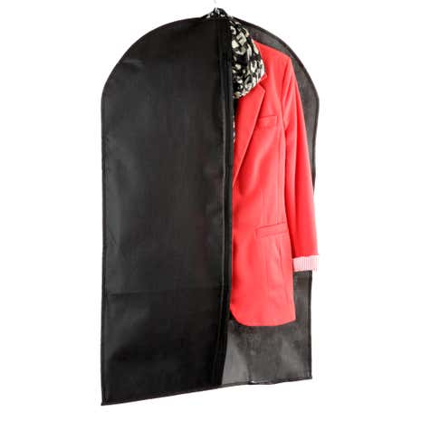 Black Non Woven Suit Cover